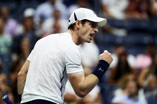 Andy Murray says he is pain-free and is eyeing a return to the court (AFP Photo/AL BELLO)