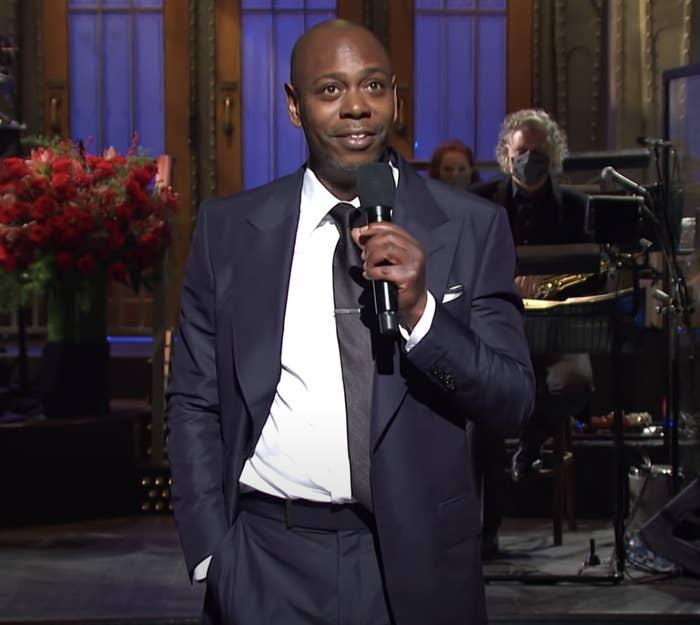 """Dave Chappelle on """"SNL"""""""