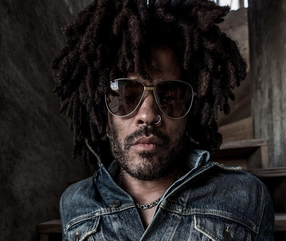 Lenny Kravitz: 'I've had the opportunity to work with so many of my heroes. It's wonderful. My path was laid out with so many amazing artists who gave me my education' (Mathieu Bitton)