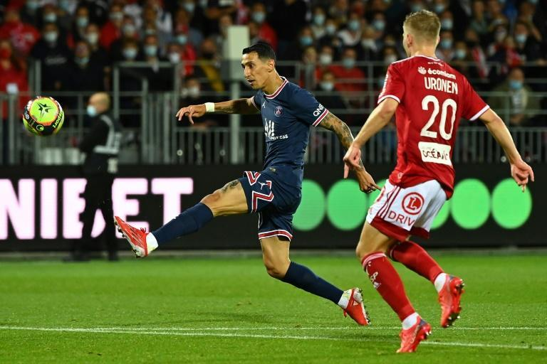 Angel Di Maria's late lob was reminiscent of his winner for Argentina in the Copa America final last month