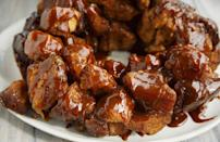 "<p>Whether it's for brunch or a holiday breakfast, monkey bread is a great treat for any spread. Michigan's most searched recipe can even be made in a slow cooker with <a href=""https://www.thedailymeal.com/cook/pantry-staple-recipes-easy?referrer=yahoo&category=beauty_food&include_utm=1&utm_medium=referral&utm_source=yahoo&utm_campaign=feed"" rel=""nofollow noopener"" target=""_blank"" data-ylk=""slk:pantry staples"" class=""link rapid-noclick-resp"">pantry staples</a> like brown sugar, cinnamon and butter. Just pick up some refrigerated biscuits and you're ready to go.</p> <p><a href=""https://www.thedailymeal.com/recipes/slow-cooker-monkey-bread-recipe?referrer=yahoo&category=beauty_food&include_utm=1&utm_medium=referral&utm_source=yahoo&utm_campaign=feed"" rel=""nofollow noopener"" target=""_blank"" data-ylk=""slk:For a Monkey Bread recipe, click here."" class=""link rapid-noclick-resp"">For a Monkey Bread recipe, click here.</a></p>"