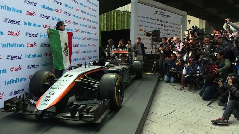 """Mexican F1 driver Sergio """"Checo"""" Perez (Force Indian) will try to defend his reputation as Latin America's best F1 driver during the upcoming Mexico City's Grand Prix, alongside Mexican rival Esteban Gutierrez (HAAS)."""