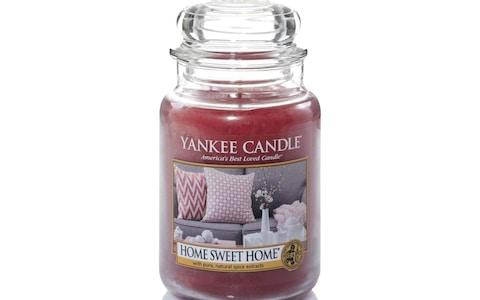Yankee Candle Large Jar Scented Candle, Home Sweet Home