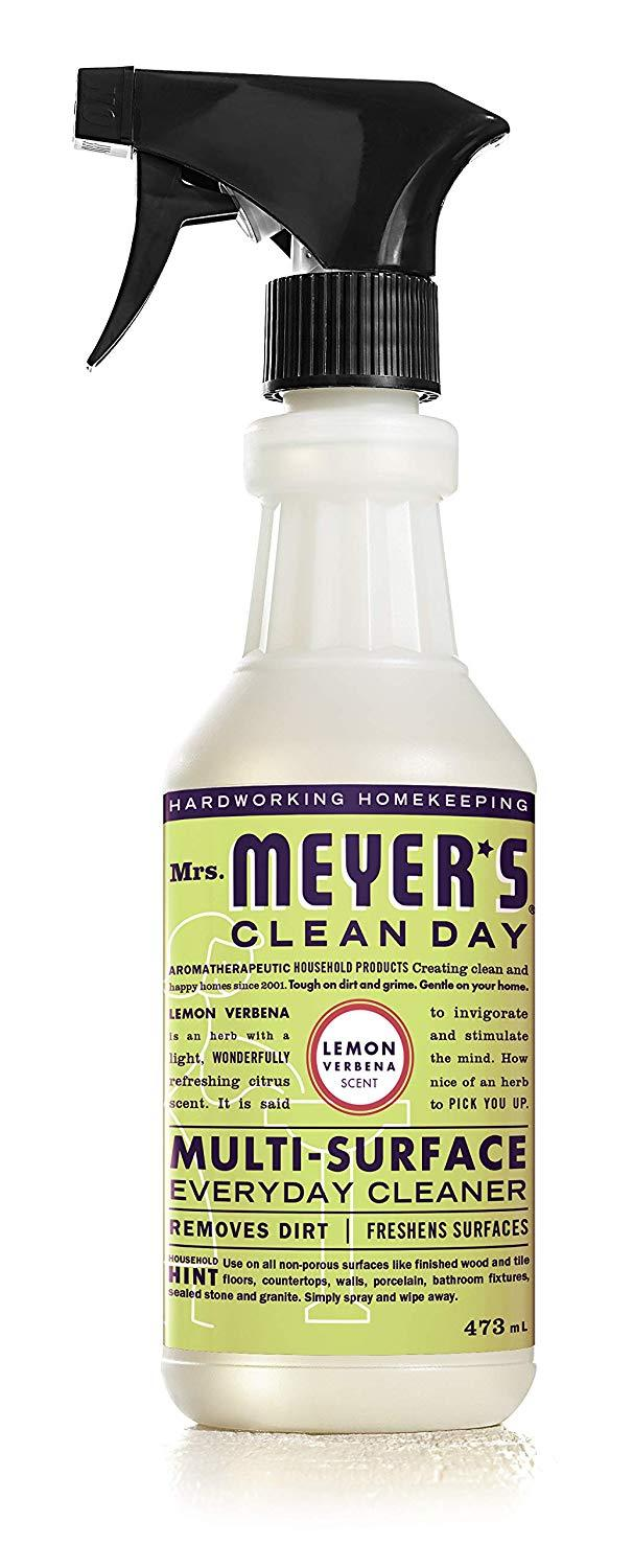 Mrs. Meyer's Clean Day Multi-Surface Everyday Cleaner.  Image via Amazon.
