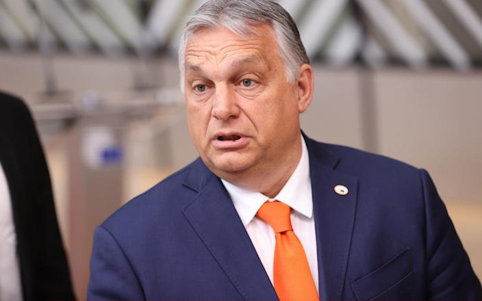 Viktor Orban claimed the EU had misunderstood the intention of the new law - Andalou Agency
