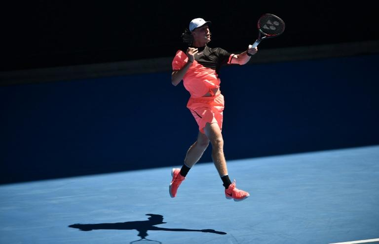 Canada's Denis Shapovalov faltered in only his second five-setter allowing experienced Frenchman Jo-Wilfried Tsonga to grab the initiative and win 3-6, 6-3, 1-6, 7-6 (7/4), 7-5