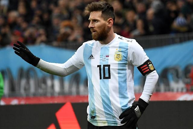 Argentina superstar Lionel Messi is Bangladesh's new favourite (AFP Photo/Kirill KUDRYAVTSEV)