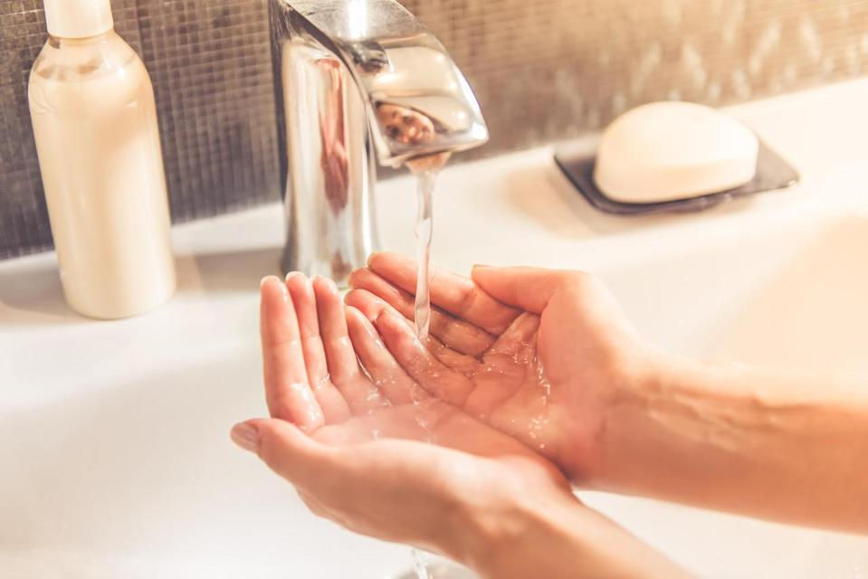 <p>We are constantly in the habit of washing our hands obsessively. Stop this habit right now! It's tough because we are constantly worried that germs will spread if we don't wash our hands regularly. It is advisable to wash hands only when you are cooking or eating your meals. <i>[Photo: Getty] </i></p>