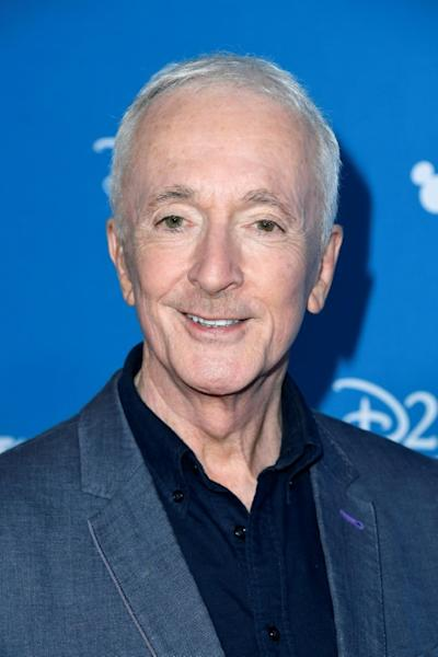 """Anthony Daniels plays droid C-3PO in all nine of the """"Skywalker saga"""" films, which conclude with the upcoming release of """"Star Wars: The Rise of Skywalker"""" (AFP Photo/Frazer Harrison)"""