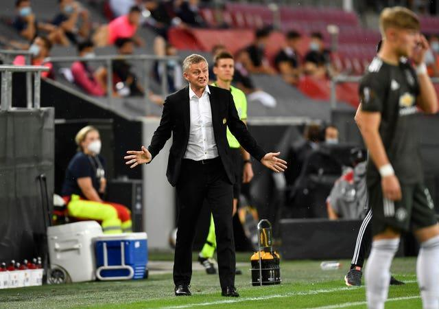 Ole Gunnar Solskjaer's side lost to Sevilla in last season's Europa League semi-finals