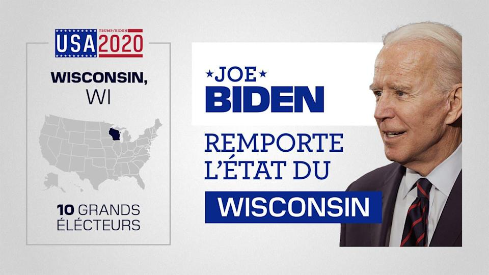 Joe Biden remporte le Wisconsin - BFMTV