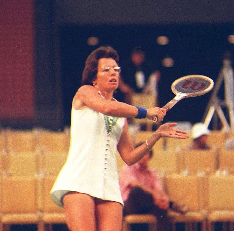 "The ""Battle of the Sexes"" was one of many fights for equality Billie Jean King had on and off the tennis court."