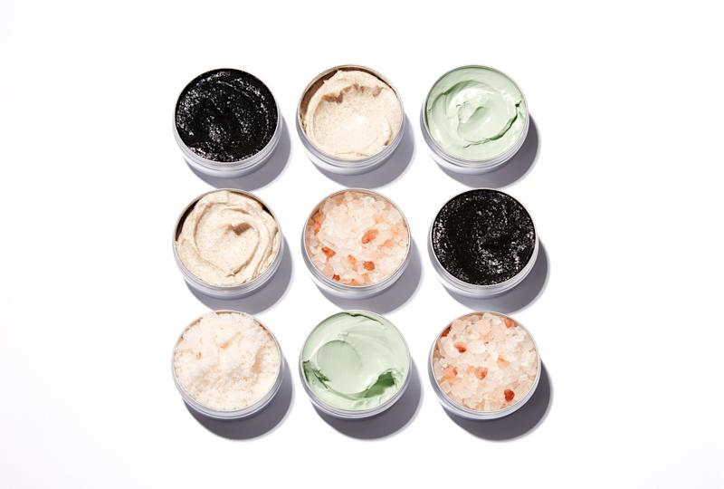 Clay masks and salt treatments on a Grid. (PHOTO: Getty Images)