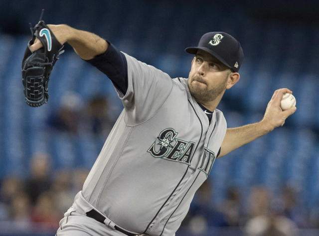 Seattle's James Paxton threw MLB's second individual no-hitter of the season Tuesday in a win over the Toronto Blue Jays. (AP)