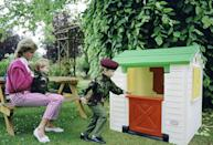 <p>While they lived a lavish life growing up in Kensington Palace, every child enjoys a run-of-the-mill playset. The simple toy reminds us of our own childhood, proving that royals are just like us — really!</p>