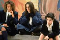 "<p>Robin Tunney, Fairuza Balk, Neve Campbell, and Rachel True star in this teen movie about a group of high schoolers studying witchcraft. At first, it's all just for fun—a prank on the school's resident mean girl, a love spell on a crush. But when the group's magic starts going to a darker place, one of the teens decides she must put a stop to it.</p> <p><em>Available to rent on</em> <a href=""https://www.amazon.com/Craft-Robin-Tunney/dp/B000MQ7B0O"" rel=""nofollow noopener"" target=""_blank"" data-ylk=""slk:Amazon Prime Video"" class=""link rapid-noclick-resp""><em>Amazon Prime Video</em></a><em>.</em></p>"