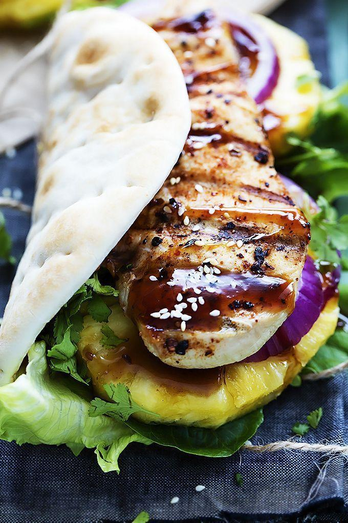 """<p>Make your own teriyaki sauce using this blogger's tutorial, and you'll take your chicken to the next level.</p><p><strong>Get the recipe at <a href=""""https://www.lecremedelacrumb.com/grilled-pineapple-teriyaki-chicken-wraps/"""" rel=""""nofollow noopener"""" target=""""_blank"""" data-ylk=""""slk:Creme de la Crumb"""" class=""""link rapid-noclick-resp"""">Creme de la Crumb</a>.</strong> </p><p><strong><strong><strong><strong><strong><a class=""""link rapid-noclick-resp"""" href=""""https://go.redirectingat.com?id=74968X1596630&url=https%3A%2F%2Fwww.walmart.com%2Fip%2FPioneer-Woman-Slotted-Turner%2F910200136&sref=https%3A%2F%2Fwww.thepioneerwoman.com%2Ffood-cooking%2Fmeals-menus%2Fg32188535%2Fbest-grilling-recipes%2F"""" rel=""""nofollow noopener"""" target=""""_blank"""" data-ylk=""""slk:SHOP KITCHEN TOOLS"""">SHOP KITCHEN TOOLS</a></strong></strong></strong></strong></strong></p>"""