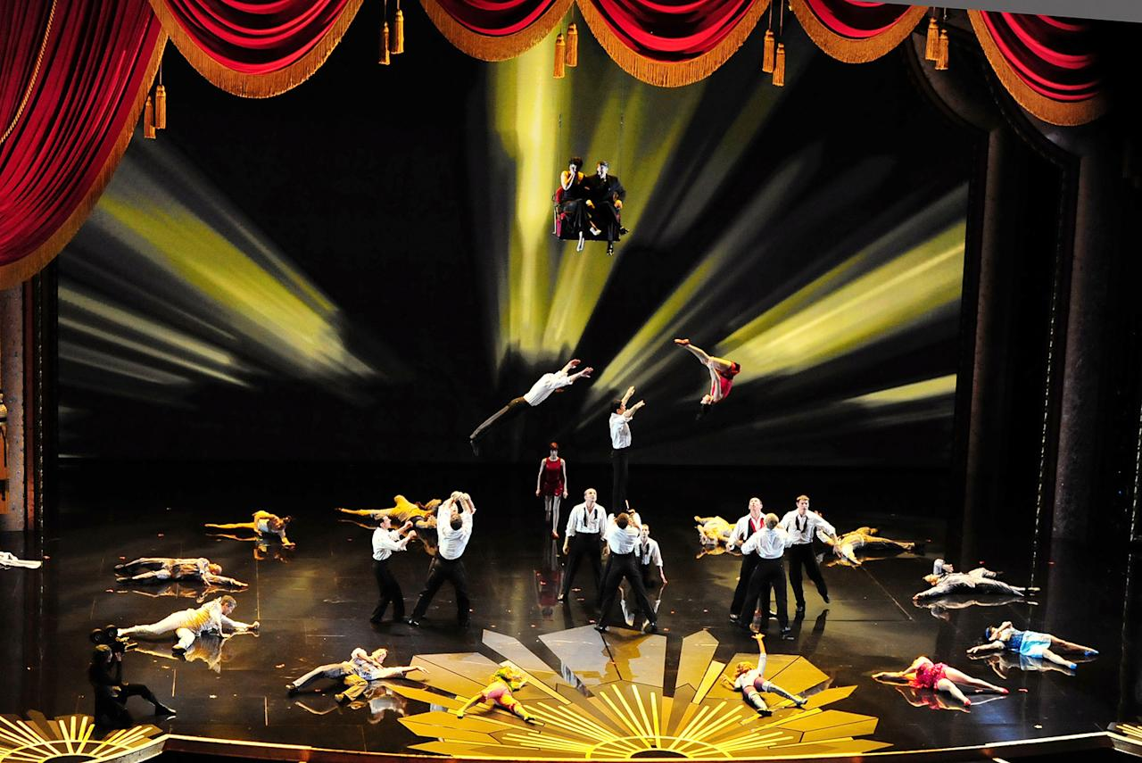 Cirque du Soleil on stage during the 84th Annual Academy Awards in Hollywood, CA.