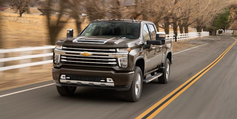The 2020 Chevrolet Silverado Hd Is Smart Burly And Can Tow Up To