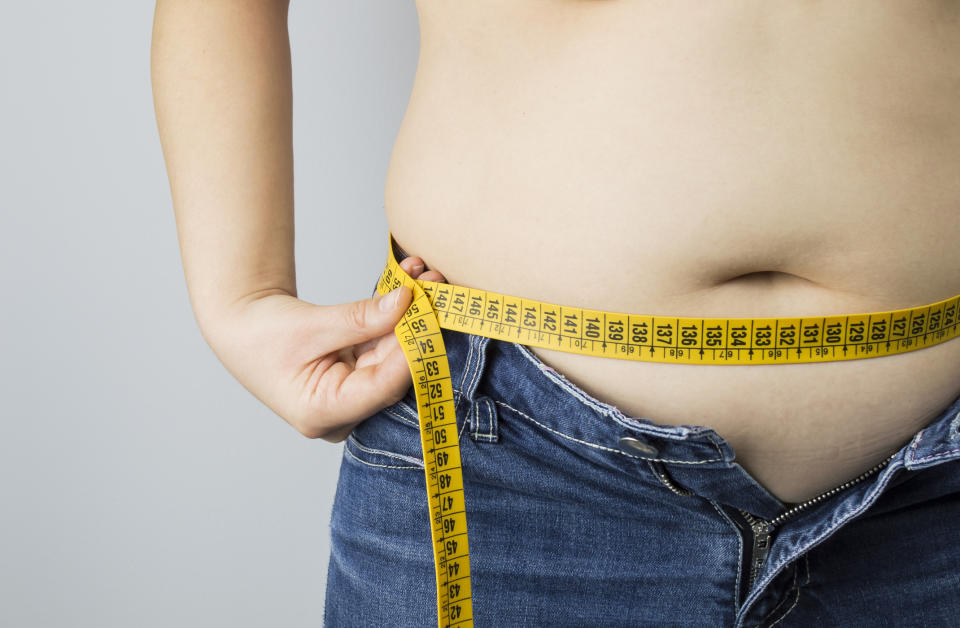 A new statement suggests waist circumference is as important as BMI (Getty)