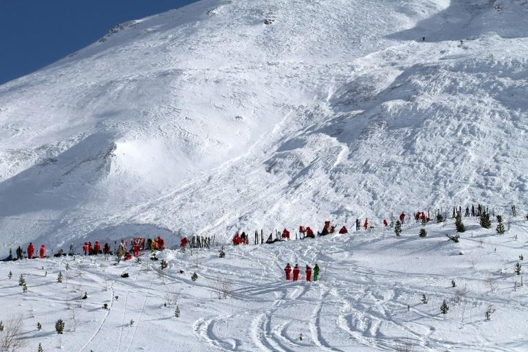 The French resort of Tignes was also hit by a deadly avalanche on February 13
