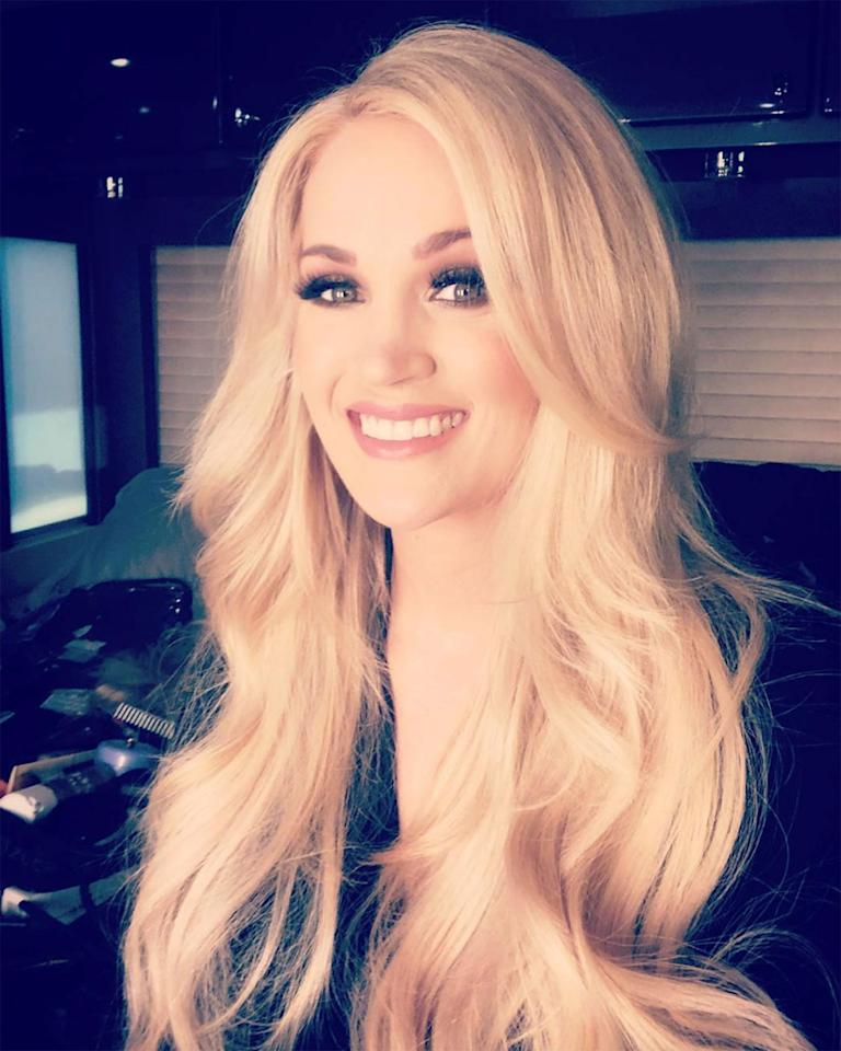 "<p>Prior to her 2019 Academy of Country Music Awards performance, Underwood showed fans on Instagram how she took care of her mom duties while prepping to hit the stage.</p><p>""Getting ready for my performance… also pumping. 😬😂🤷‍♀️"" she wrote alongside a selfie she took in full stage makeup and hair, tacking on the hashtags ""#Multitasking,"" ""#ACMAwards,"" ""#Southbound"" and ""#LetsDoThis.""</p><p>Underwood, who welcomed her second child <a href=""https://people.com/parents/carrie-underwood-welcomes-son-jacob-bryan-photos/"">Jacob Bryan</a> on Jan. 23, clearly has this multitasking thing down.</p>"