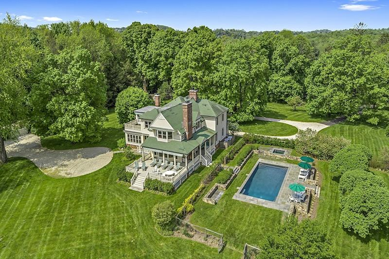 Glenn Close's former property includes a four-bedroom main house and multiple other buildings.