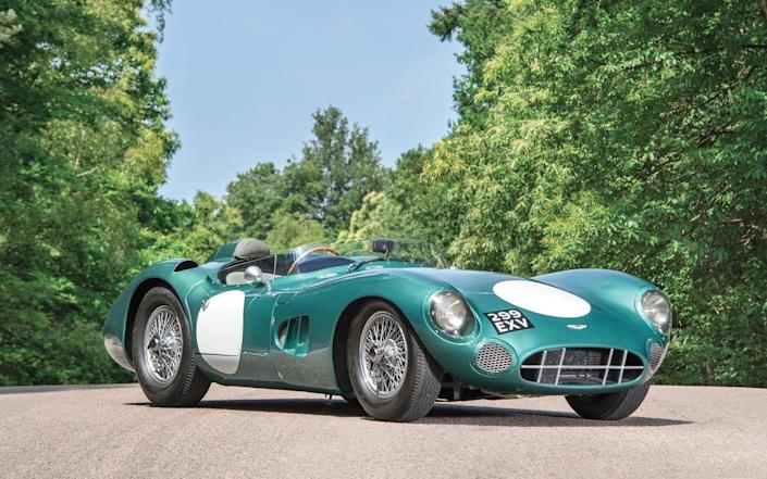 The 1956 DBR1 which sold for £17.5 million - South West News Service