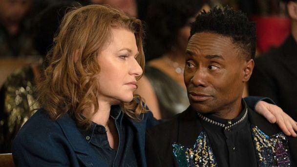 PHOTO: Sandra Bernhard, as Nurse Judy, and Billy Porter, as Pray Tell, in a scene from 'Pose.' (Macall Polay/FX)