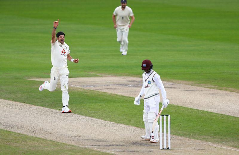 Shai Hope played a nightmare shot on the final day of the series