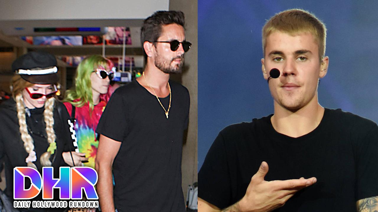 Bella & Scott spotted holding hands, and Justin takes a tumble on stage. All this & more on today's DHR.