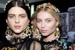 Kirsten Dunst Works Dolce & Gabbana's Floral Headband While Kristen Stewart Gets Tousled At Cannes