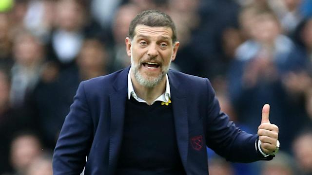 The Hammers boss has endured a torrid second half of the season but insists he is unworried by reports that his job is in any kind of danger