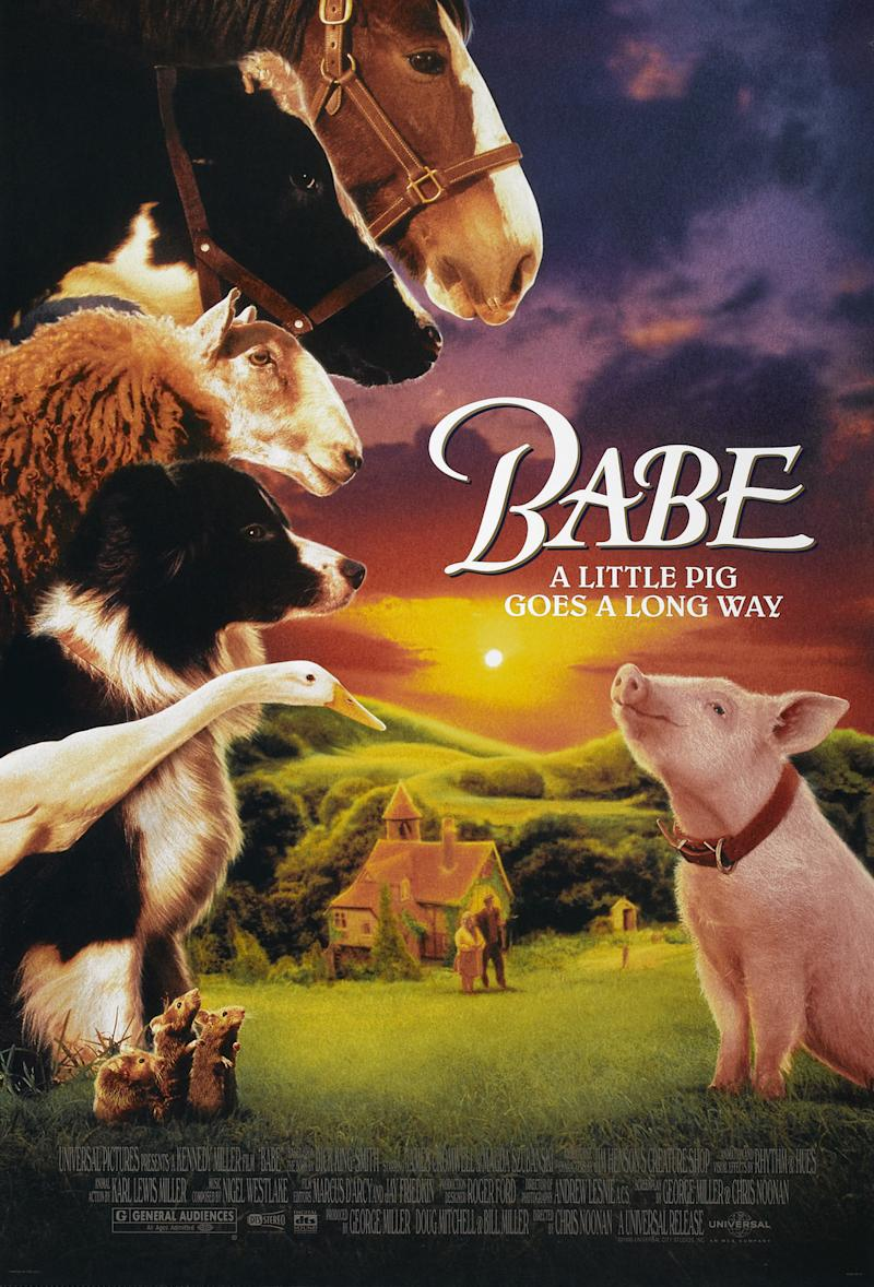 The poster for Babe. (Universal Pictures)