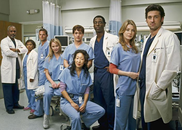 <p><strong><em>Grey's Anatomy</em><br><br></strong>While most of the action—including explosions, a gunman, and too many romantic elevator encounters to count—take place inside the walls of Grey Sloan Memorial Hospital, the Seattle skyline is the backdrop for this ABC drama. </p>