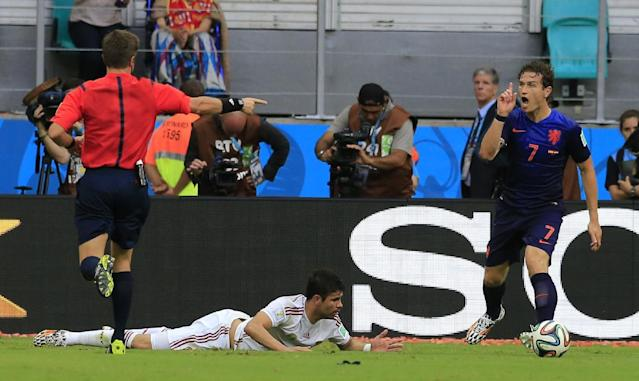 FIFA considering review system to improve officiating at World Cup