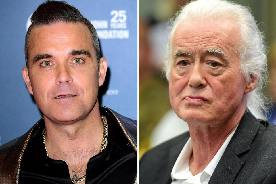 Robbie Williams gets permission for underground swimming pool at Kensington home after five-year planning spat with Jimmy Page
