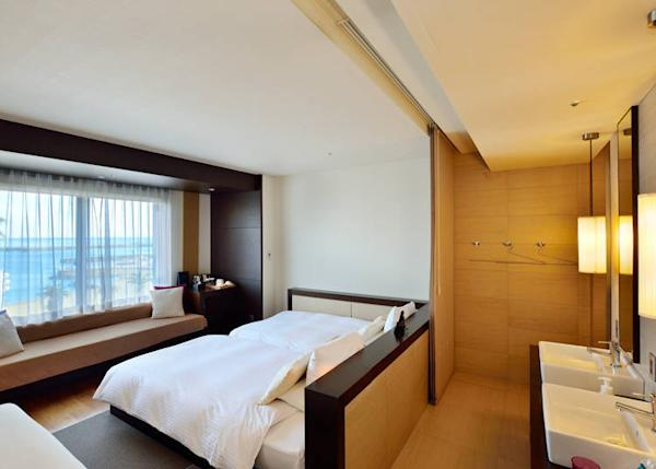 Guest rooms may also be used by day-trip visitors (photo shows a Superior Room)