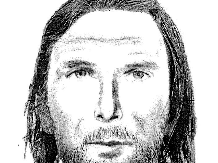 NEWS REPORT: Police say this composite sketch of a man who may have been seen driving the couple's dark green Saturn sedan is a big break. / Credit: FBI