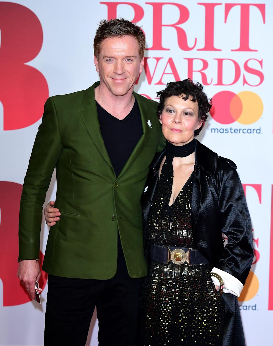 Helen McCrory with her husband Damian LewisPA Archive