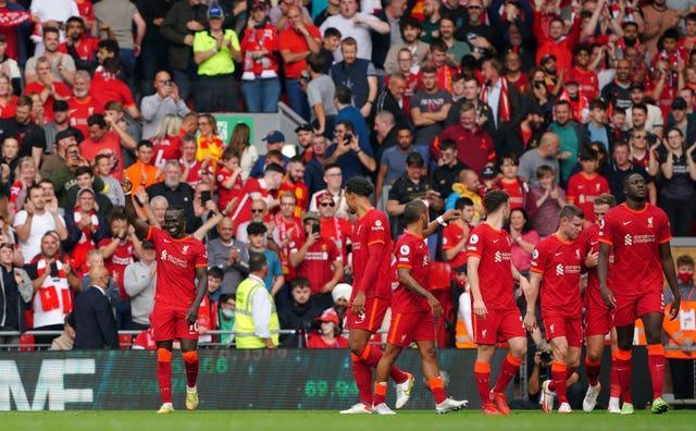 Liverpool are the other side at the summit and Sadio Mane grabbed the opener against Crystal Palace. It was his 100th goal for the Reds, but more crucially made him the first player in Premier League history to score against the same opponent in nine consecutive matches