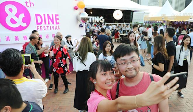 The Wine & Dine Festival, organised by Hong Kong Tourism Board, was held on October 18 last year. Photo: Winson Wong