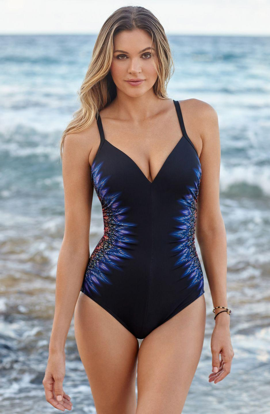 """<p>Miraclesuit's tagline is """"Look 10 pounds lighter in 10 seconds."""" Constructed with special slimming materials, the brand's collection of one pieces, tankini tops and high-waisted bottoms are all designed to flatter and sculpt curves, while still being comfortable for all your water-based activities.</p><p><a class=""""link rapid-noclick-resp"""" href=""""https://go.redirectingat.com?id=74968X1596630&url=https%3A%2F%2Fwww.nordstrom.com%2Fbrands%2Fmiraclesuit--503%3Forigin%3DproductBrandLink&sref=https%3A%2F%2Fwww.oprahdaily.com%2Fstyle%2Fg27391962%2Fbest-swimwear-brands%2F"""" rel=""""nofollow noopener"""" target=""""_blank"""" data-ylk=""""slk:SHOP NOW"""">SHOP NOW</a></p>"""