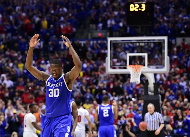 Young Kentucky comes of age in Sweet 16 thriller over Louisville