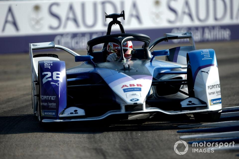 "P2 Maximilian Gunther, BMW I Andretti Motorsports, BMW iFE.20<span class=""copyright"">Andrew Ferraro / Motorsport Images</span>"