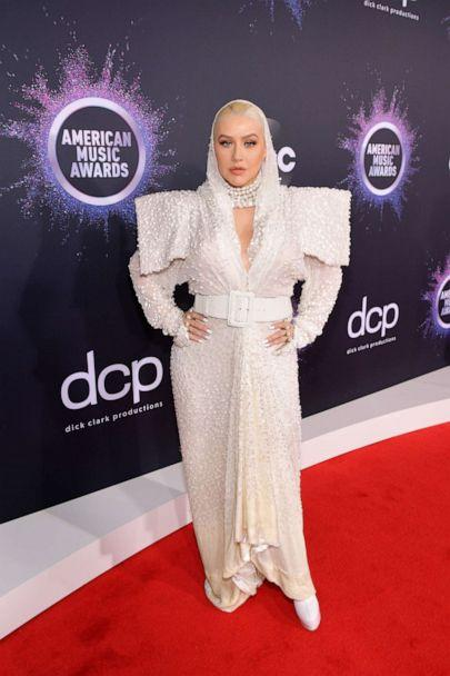PHOTO: Christina Aguilera attends the 2019 American Music Awards at Microsoft Theater on Nov. 24, 2019 in Los Angeles. (Getty Images for dcp)