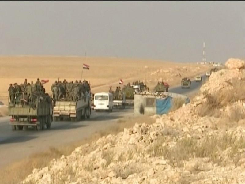 U.S. troops cross into Iraq from Syria