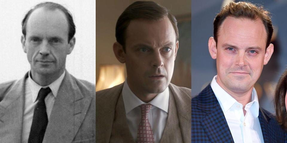 <p>You may recognize Harry Hadden-Paton from his roles in <em>Downton Abbey</em> and <em>Versailles</em>. He played Martin Charteris, one of Queen Elizabeth's private secretaries, in <em>The Crown</em>.</p>