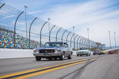 Classic car parade lap around the track on Sunday, March 29th at 2pm.