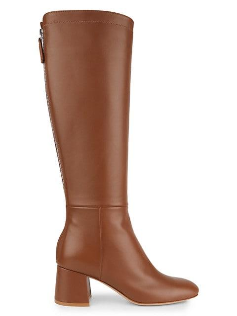 Tall Leather Boots image number NaN